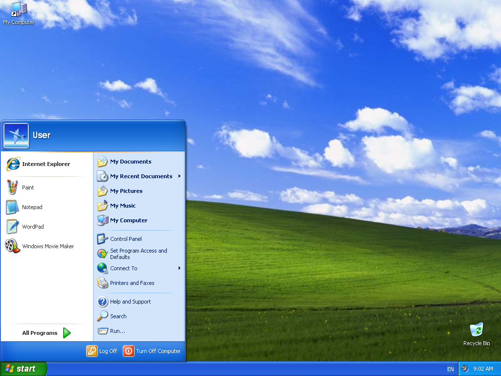 Instalare Windows XP Desktop
