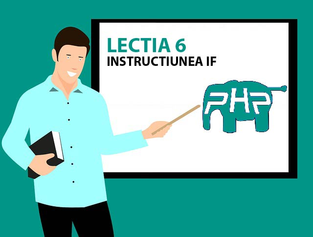 Instructiunea if php