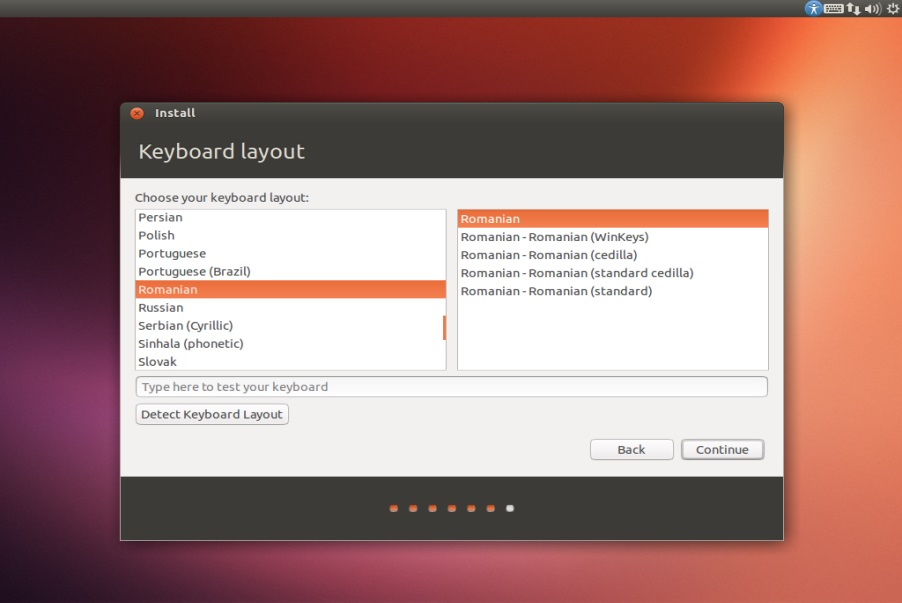 Ubuntu Keyboard layout