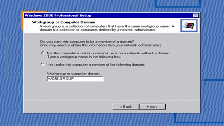 Windows 2000 Workgroup