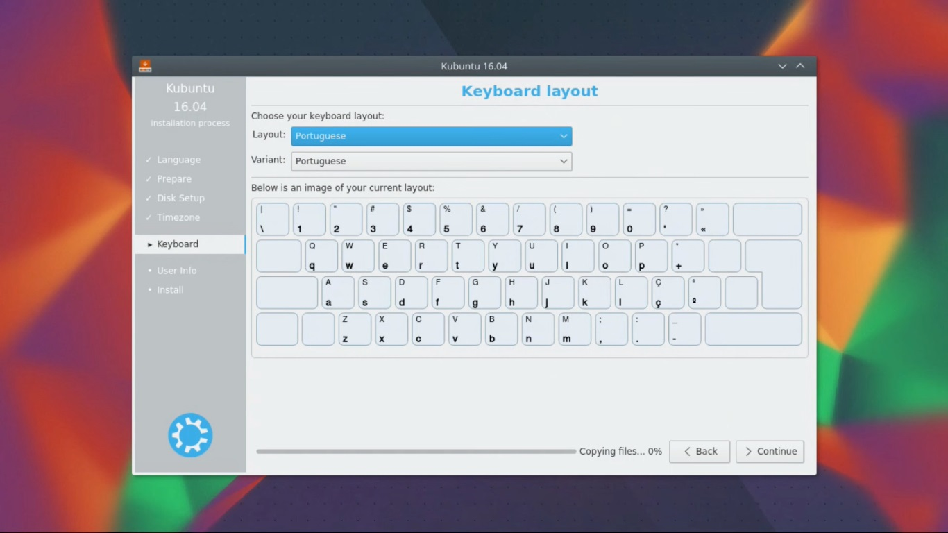 kubuntu keyboard layout