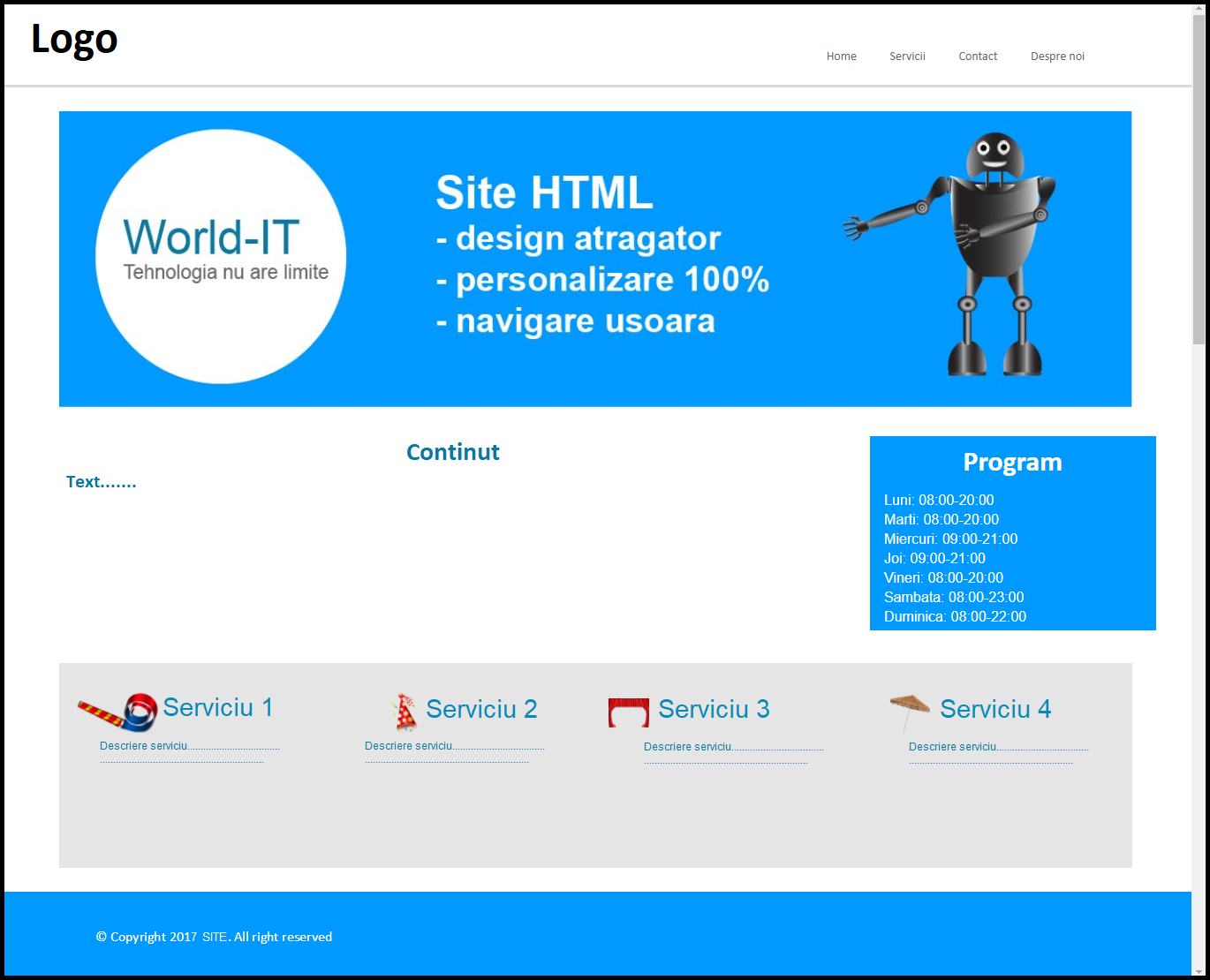 site html1